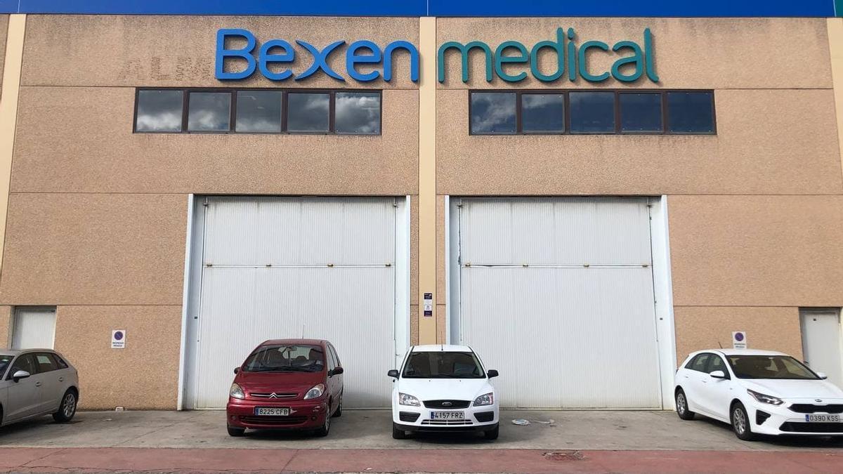 Bexen Medical, en Hernani, donde se almacenan las vacunas congeladas