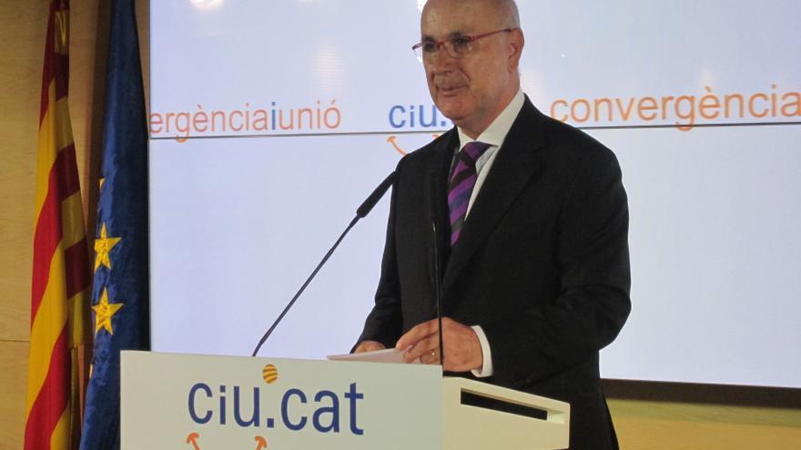"""Duran anuncia que UDC irá a la Diada a defender el pacto fiscal y pide no apoyar la independencia por """"coherencia"""""""
