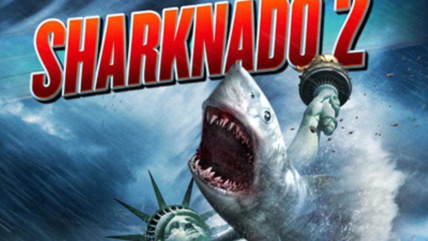 'Sharknado 2', a 'morder' la gran pantalla en España