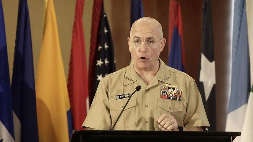 El jefe del Comando Sur defiende su papel en la lucha contra el crimen trasnacional