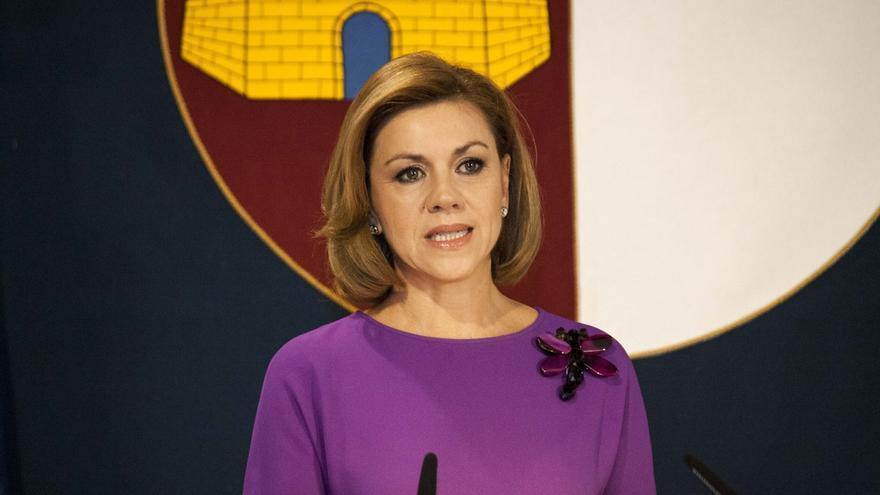 """Cospedal sobre la corrupción en España: """"Hay menos que nunca"""""""