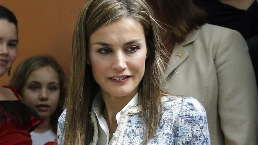 Doña Letizia respalda en Pamplona los valores del voluntariado