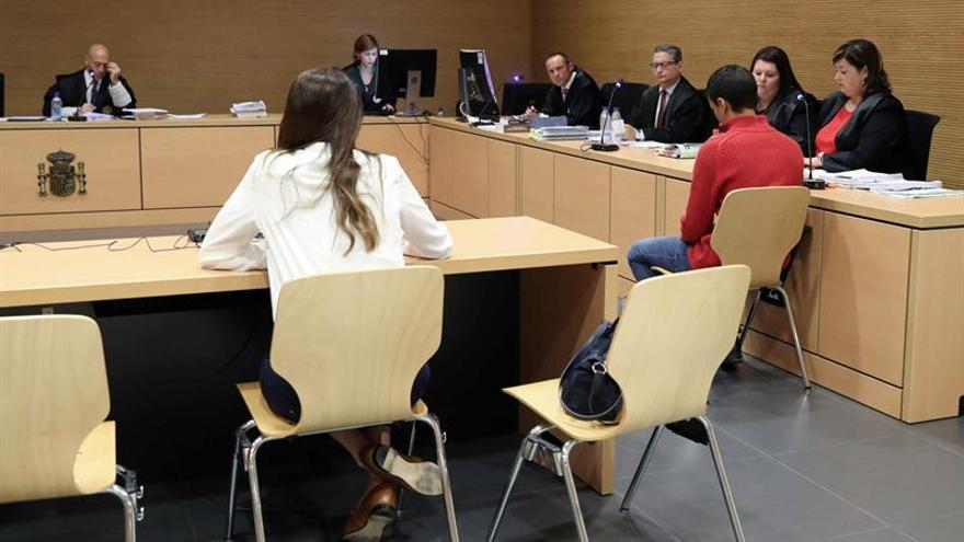 Imagen de la sesión de juicio de este martes. Foto: EFE