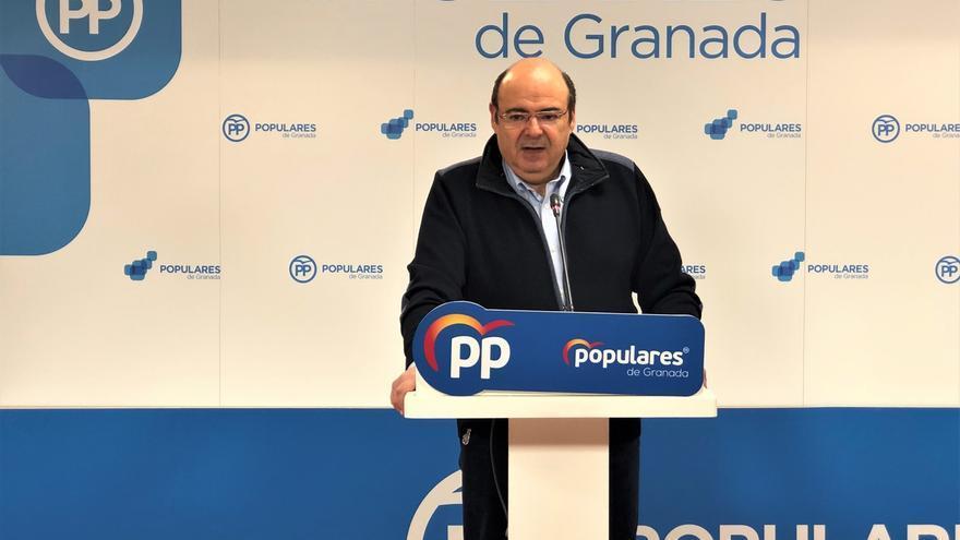 """Sebastián Pérez dimite como presidente provincial del PP por falta de """"apoyo"""" de la dirección"""
