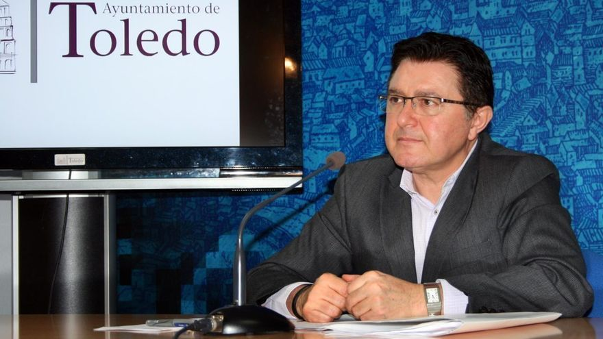 El concejal de Promoción Económica de Toledo, Teo García