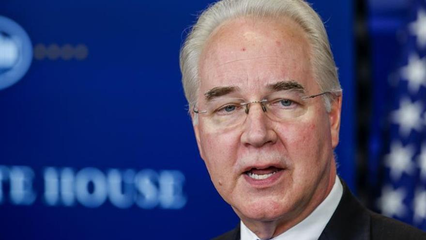 Polémica del secretario de Salud de EE.UU. por dispendios en viajes oficiales
