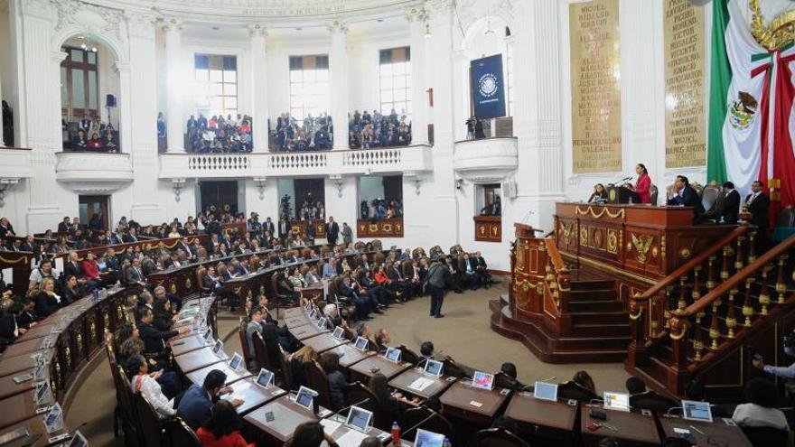 Vista general del Congreso en Ciudad de México (México).