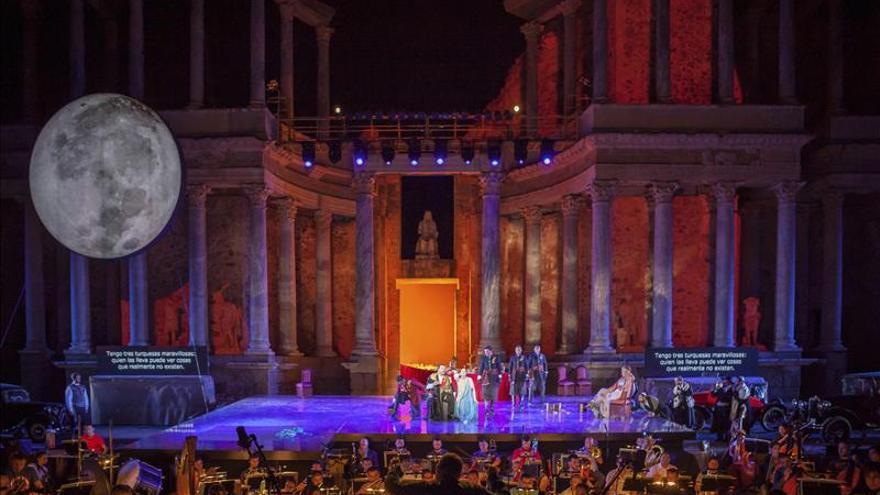 El Festival de Mérida estrena el Teatro Romano de Medellín con tres obras