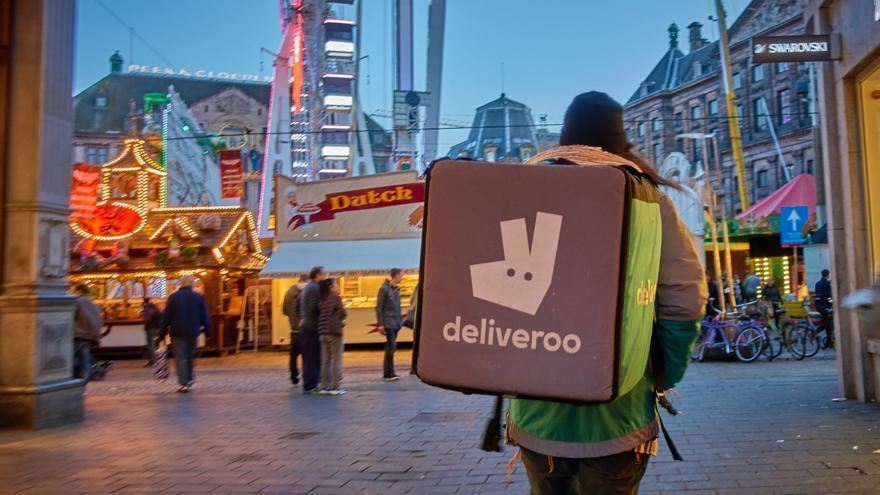 El reparto de Deliveroo y Glovo ya lo intentaron otras compañías a finales de los 90. (Imagen: Ingenuity | Flickr)