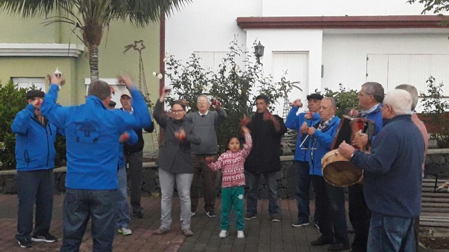 Agrupación de Castañuelas de Breña Alta.