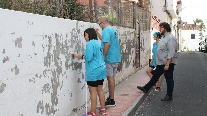 Muro de la Calle Virgen de la Luz.