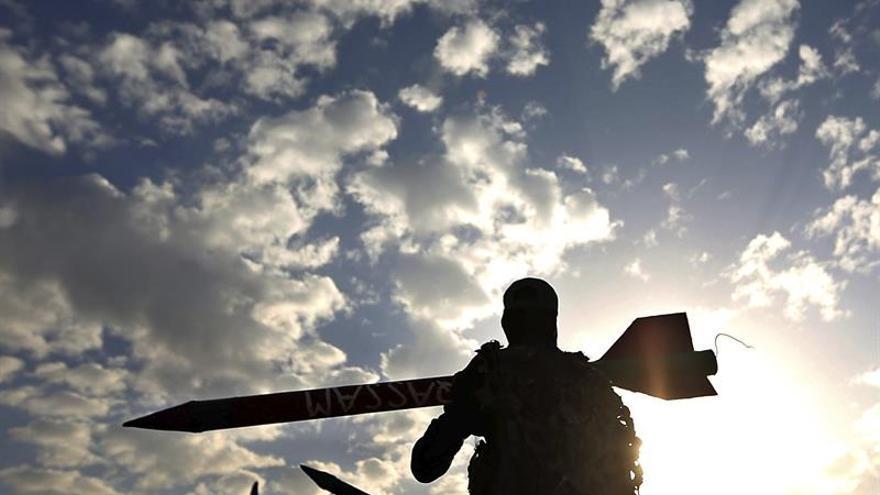 Un miembro de Hamás muere durante un entrenamiento militar en Gaza