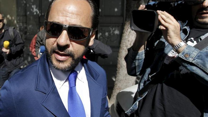 "Álvaro Pérez, ""El Bigotes"", supuesto responsable de la trama Gürtel en Valencia."