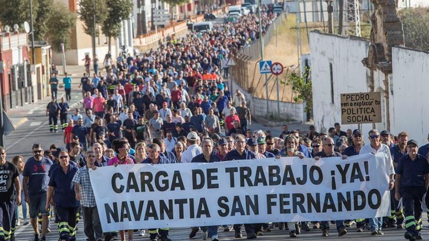 Navantia y los sindicatos retoman el miércoles la negociación del plan estratégico
