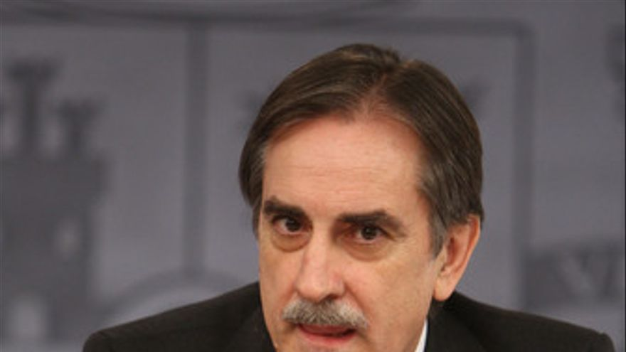 Valeriano Gómez, ministro de Trabajo. (EUROPA PRESS)