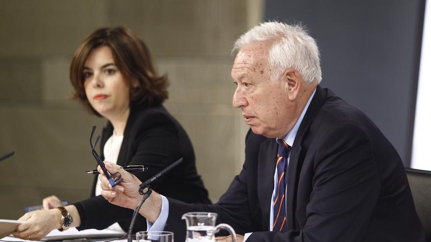 Margallo descarta cambios en el voto rogado hasta la próxima legislatura y culpa de él al PSOE