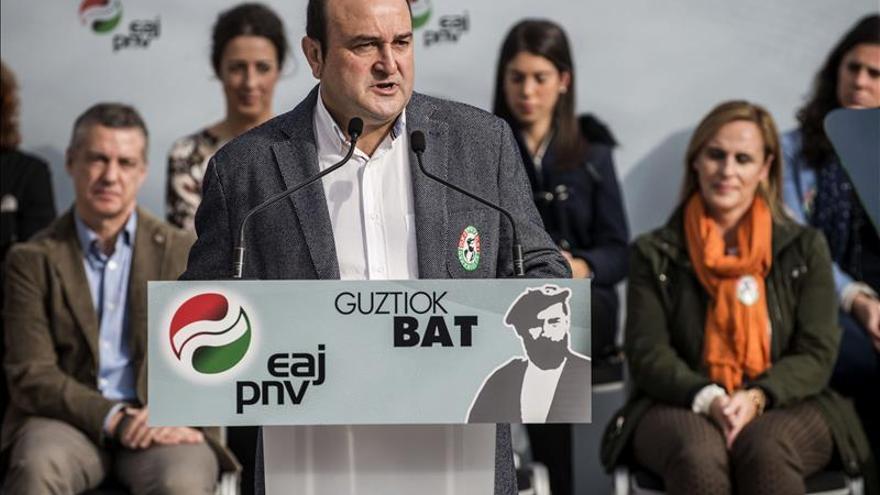 Ortuzar (PNV): ETA y sus militantes sólo han traído sufrimiento a Euskadi