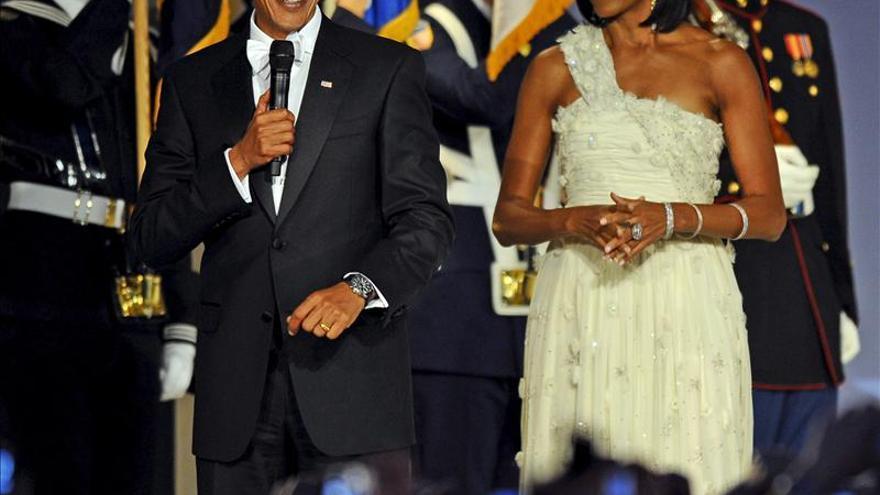 El vestido de Michelle, el secreto mejor guardado de la investidura de Obama