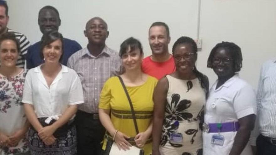 Profesionales del Hospital San Juan de Dios viajan a Ghana para trabajar en el St Joseph Hospital de Koforidua