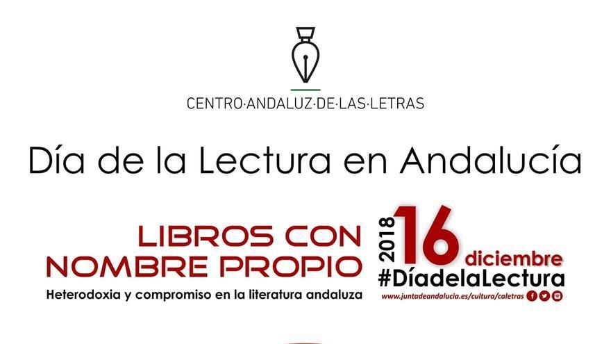 La Consejería de Cultura dedica el Día de la Lectura en Andalucía a la heterodoxia en la literaria andaluza