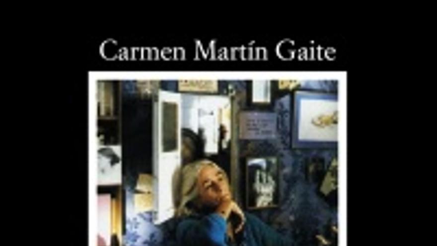 Portada de El cuarto de atrás, de Carmen Martín Gaite.