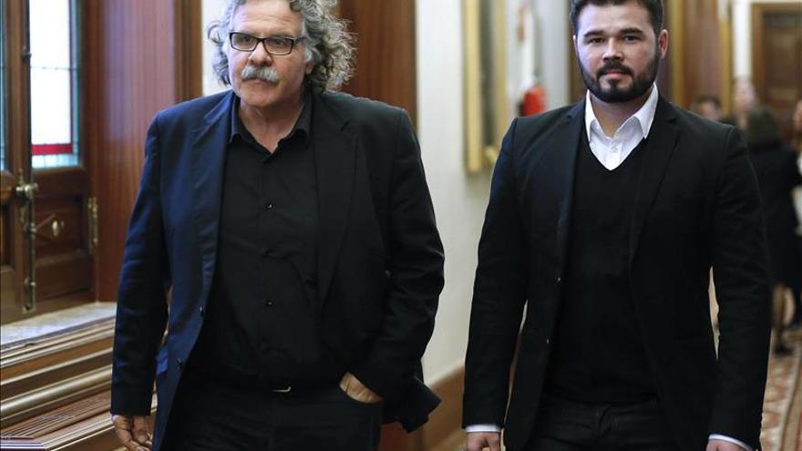 ERC acusa al PSOE de tener menos sensibilidad con Cataluña que la que tuvo Suárez