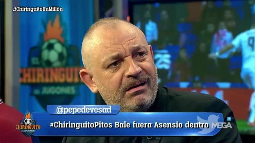Frederic Hermel en El Chiringuito de Jugones