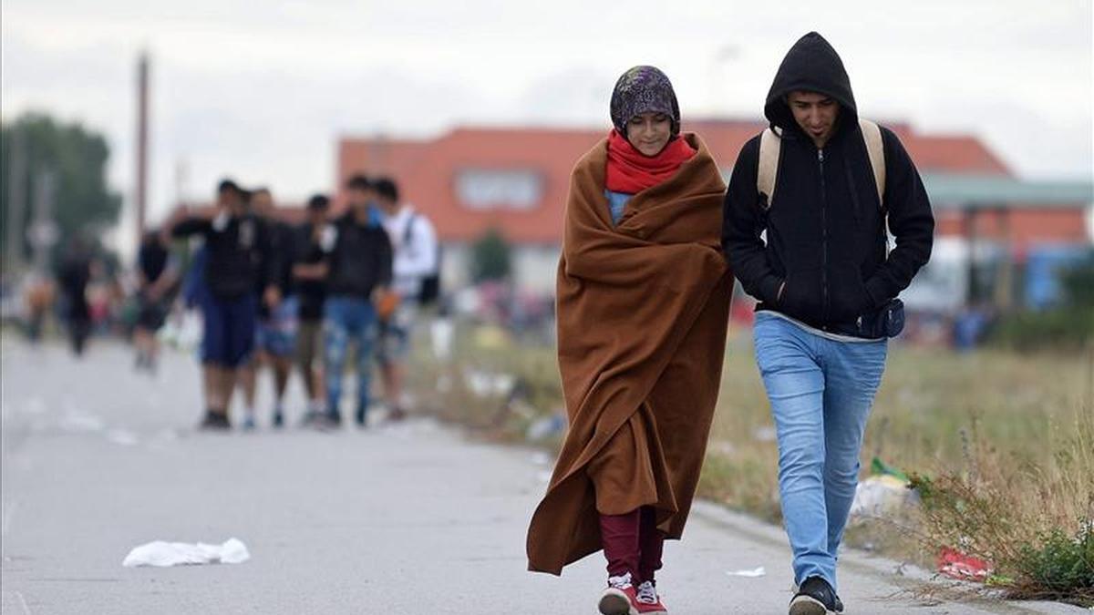 Llega a Alemania el primer tren especial desde Hungría con 450 refugiados