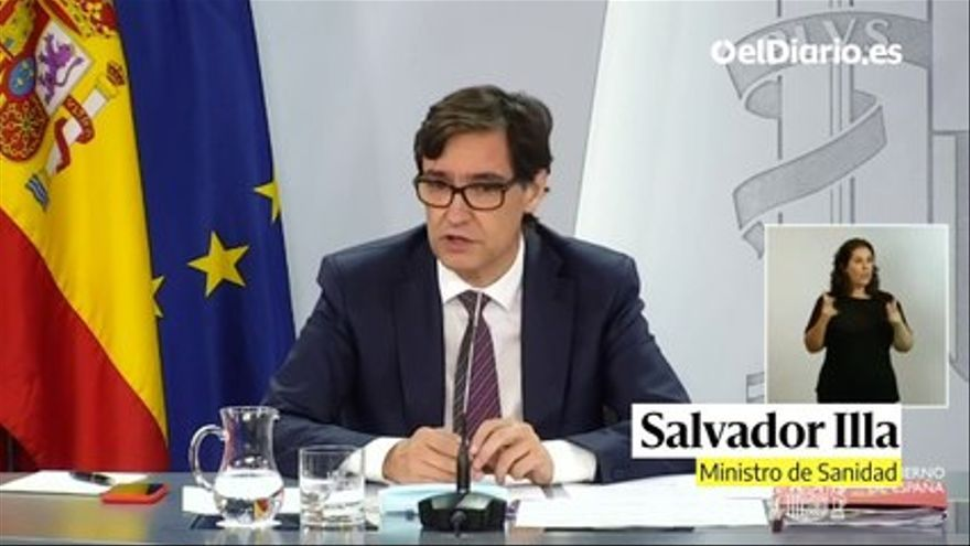 VIDEO: Salvador Illa announces the first clinical trial of an anti-covid vaccine