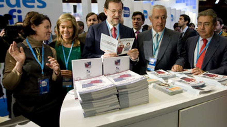Rajoy, en la Convención del PP en Sevilla
