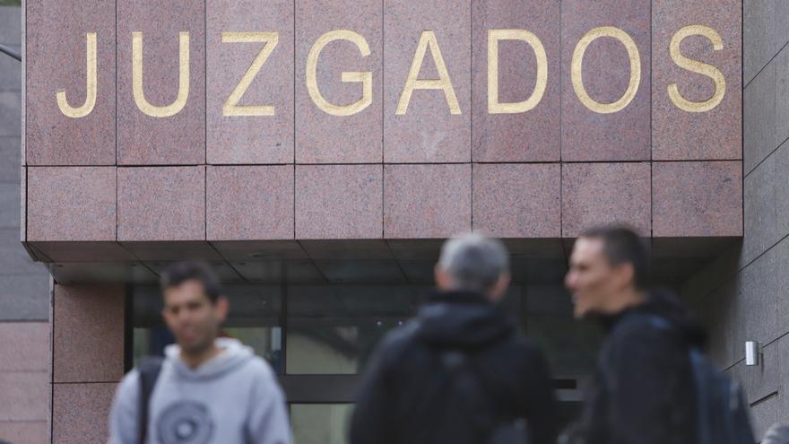 Juzgados de La Laguna, el día de la declaración de Fernando Clavijo por el caso Grúas