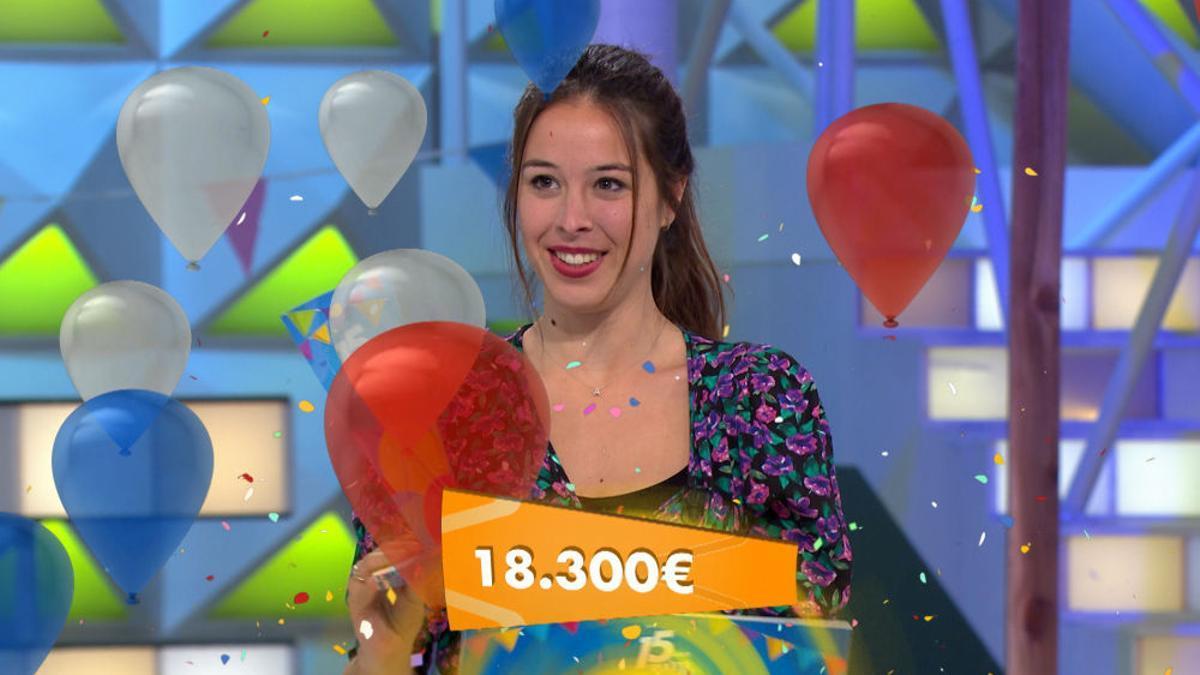 Alicia, campeona de la Semana 15 aniversario de 'La Ruleta'