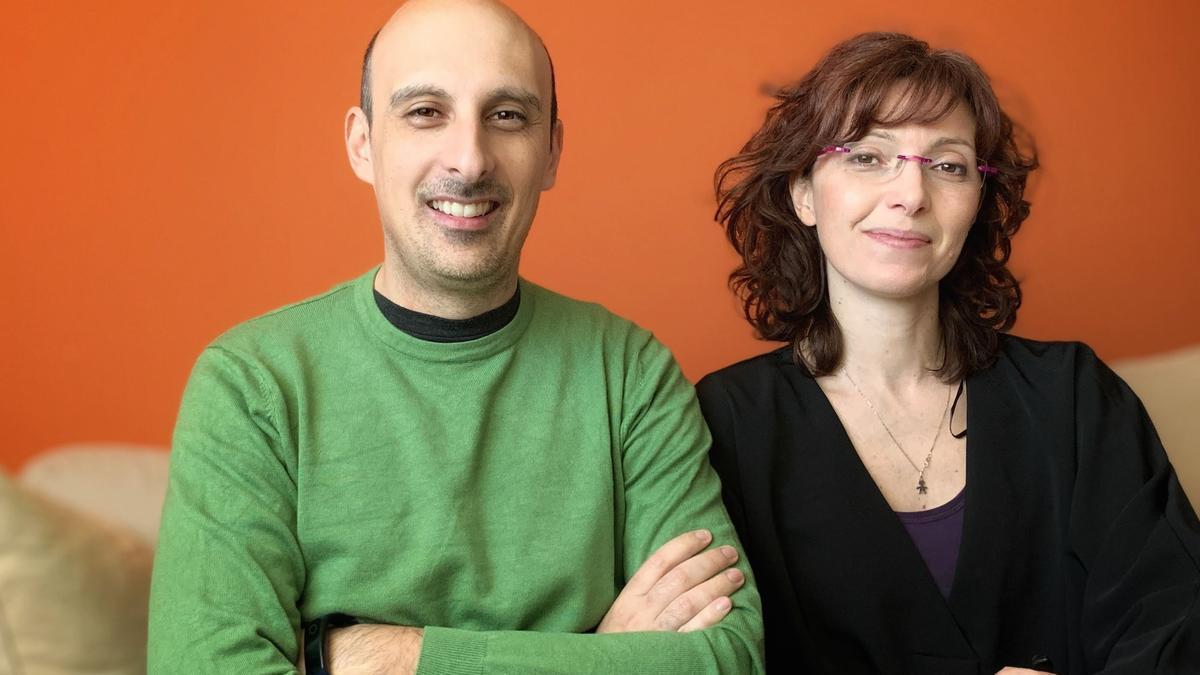 Mauro Benicci y Ester Liquori de 'You Are My Guide'.
