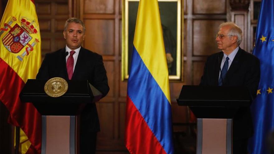 Borrell subraya la confianza de España y UE en una paz definitiva en Colombia