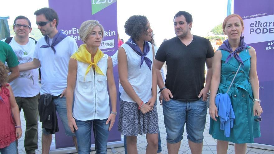 """25S- Elkarrekin Podemos dice que su apuesta es """"el derecho a decidir"""" y lo defenderá """"en Euskadi y el resto del Estado"""""""