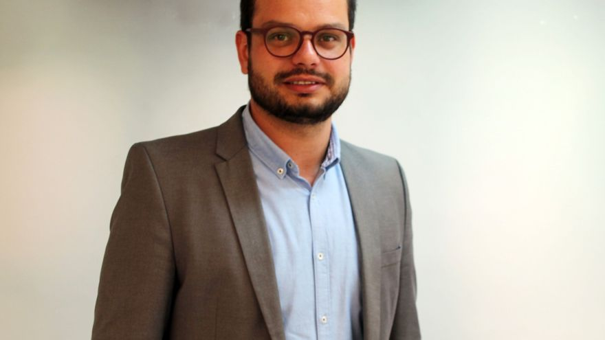 Jordi Pérez Camacho, consejero del grupo de  CC en el Cabildo de La Palma.
