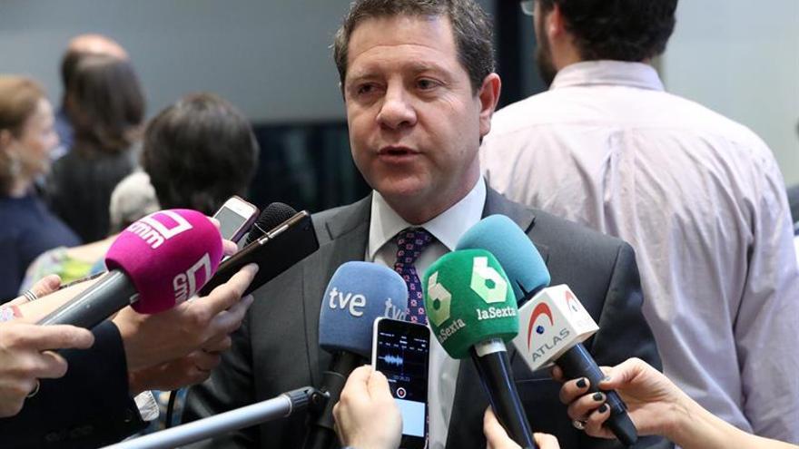 """García-Page: """"Chacón refleja lo mejor del PSOE y de la sociedad española"""""""
