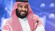 El príncipe heredero saudí, Mohamed bin Salmán.