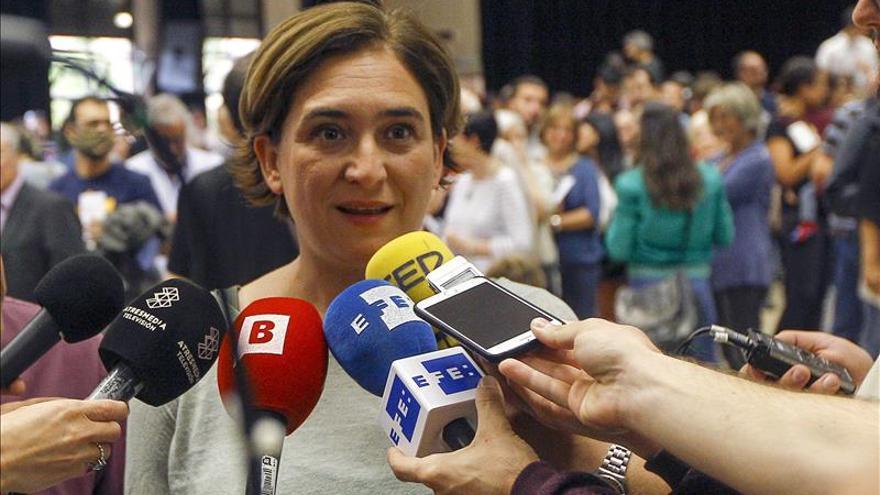 """Colau: las elecciones suponen una """"gran derrota"""" para el Gobierno del PP"""