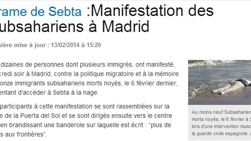 El diario marroquí Au Fait.