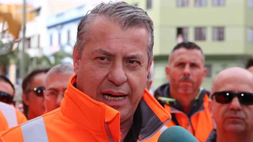 El presidente de la Asociación Sindical de Estibadores Portuarios (Asep) del Puerto de La Luz y de Las Palmas, Miguel Rodríguez.