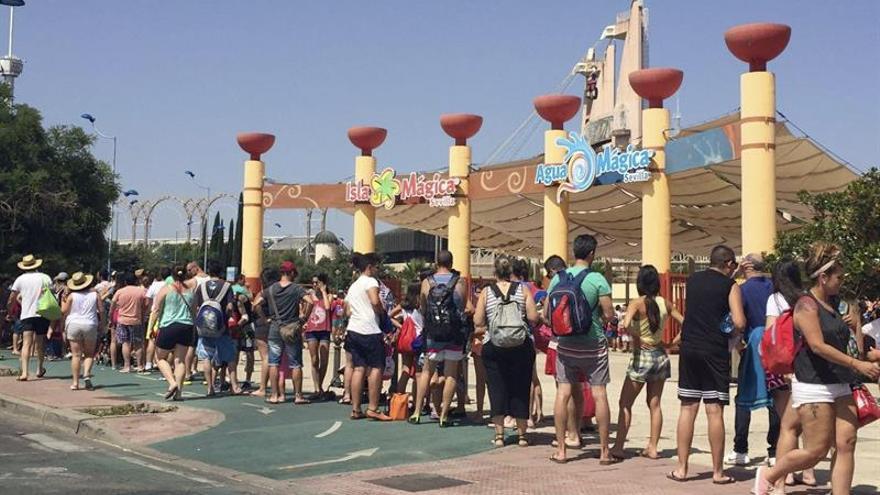 Temperaturas de hasta 42 grados en Andalucía en una jornada de calor extremo