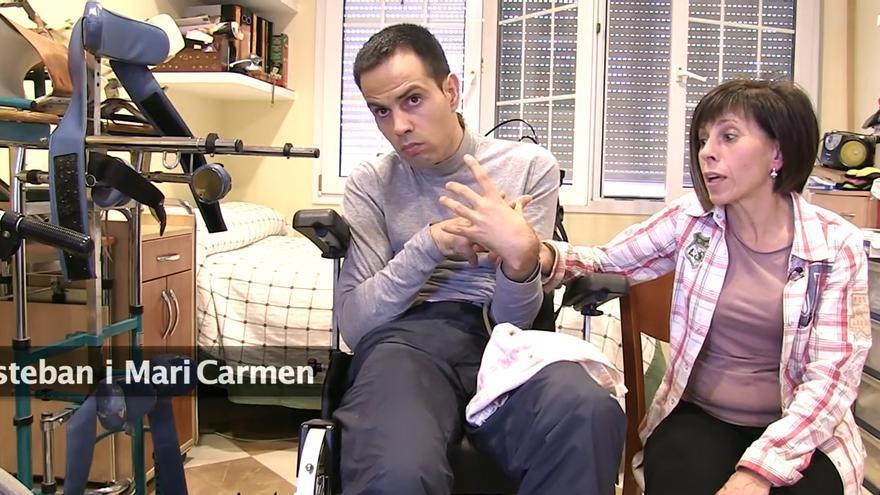 Mari Carmen cuenta su experiencia con un dependiente a su cargo, Esteban