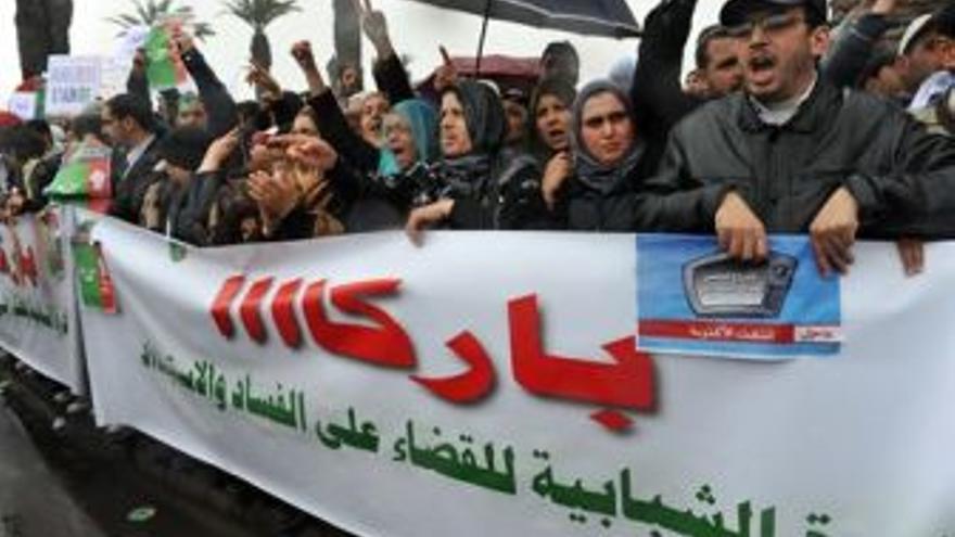 Las protestas llegan a Marruecos. (EUROPA PRESS)