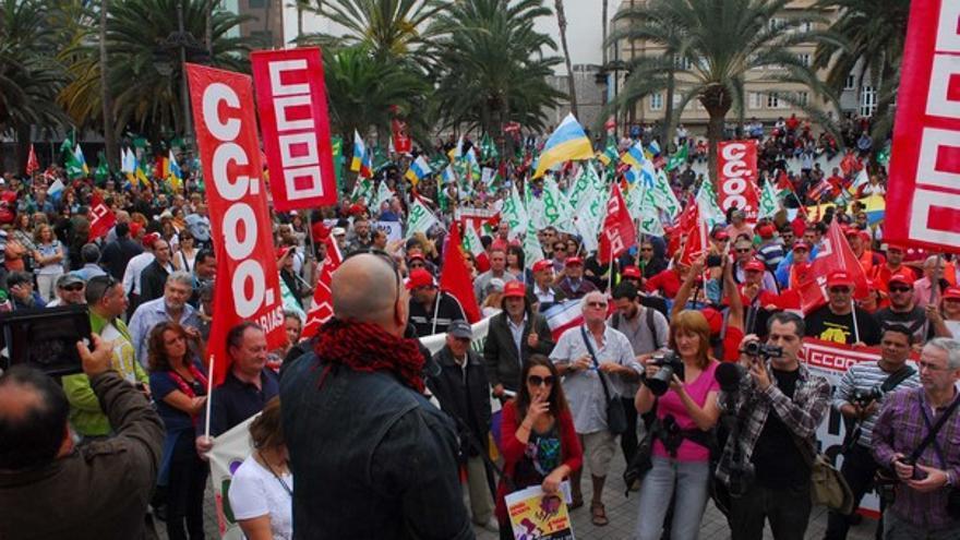 De la manifestación en LPGC #10