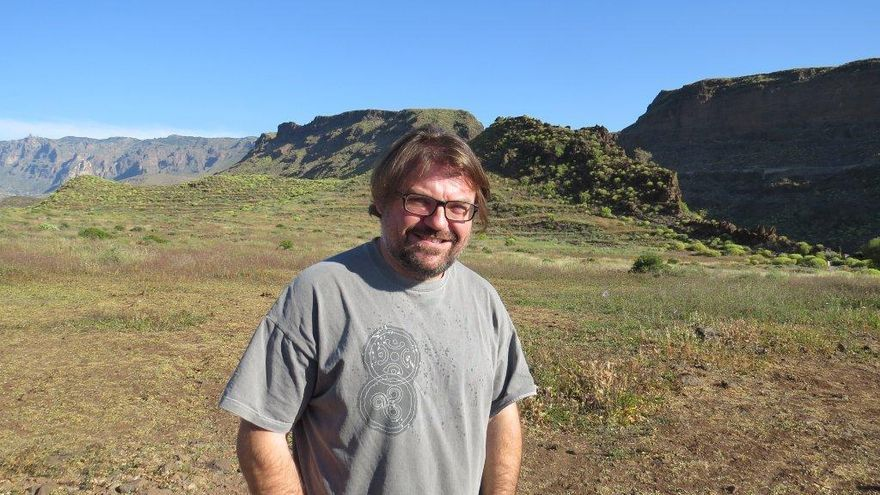 El arqueólogo Marco Moreno