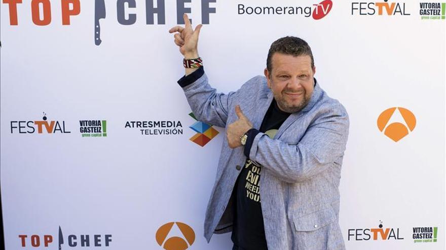 """Alberto Chicote inicia la recta final de """"Top Chef"""" y renueva para 2014"""