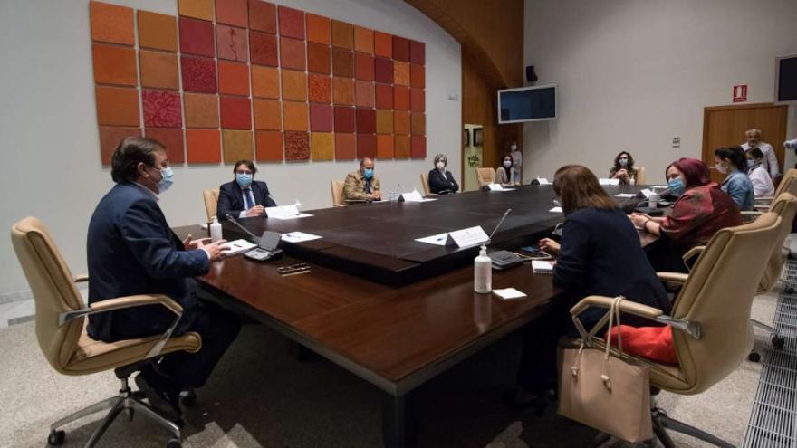 Reunión del Consejo de Gobierno de la Junta de Extremadura