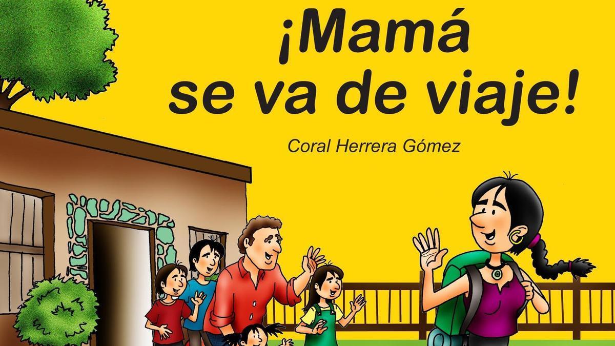 Portada del libro '¡Mamá se va de viaje!'