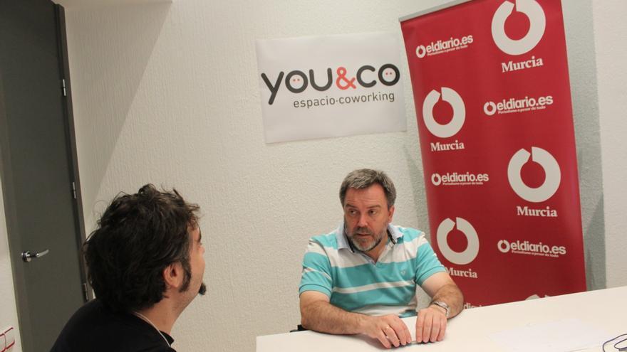 Nacho Tornel, candidato de Cambiemos Murcia / MJA